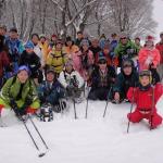 スノーシューで雪の蒜山を楽しむ旅ツアーを開催しました