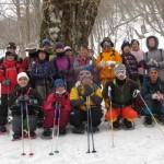 スノーシューでブナの巨木探検ツアーを開催しました