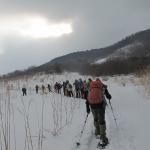 スノーシューで愛宕山に登ろう体験ツアーを開催しました