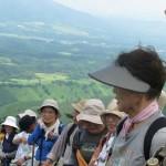 三平山へ13名の方をご案内しました