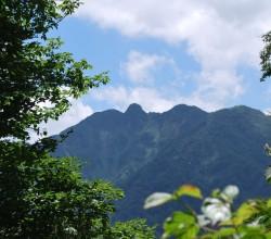 烏ヶ山を遠望
