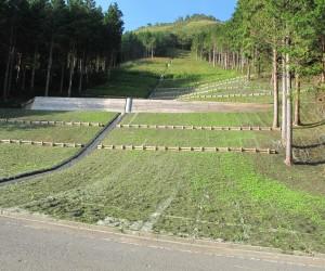 三平山:土石流災害復旧