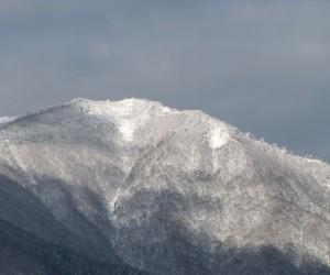12月18日の上蒜山の雪