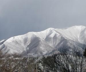 1月20日の上蒜山