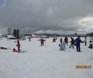雪恋祭り2日目 雪に遊ぶ