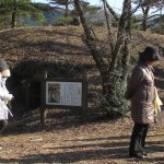 【ガイド活動】四ツ塚古墳・博物館をご案内