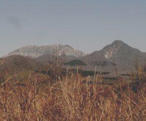 4月15日 大山、烏ヶ山 鬼女台(きめんだい)付近より