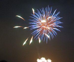 15 日 蒜山の花火