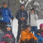 【ツアーレポート】上蒜山山麓(百合原)スノーシューハイキング開催
