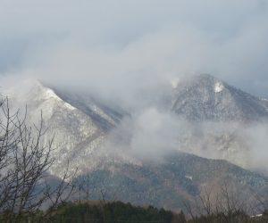 12 /25  上蒜山  雨の日が多かったのですがようやく姿を