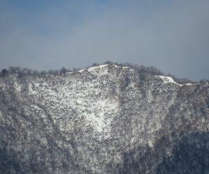 12 /25  上蒜山山頂付近