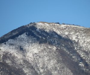 12 /25  中蒜山山頂