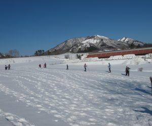 蒜山雪恋祭り ④雪原を散歩