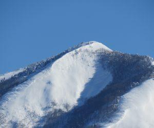 1/26 上蒜山山頂付近 白樺の丘より