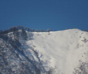 2/2  上蒜山山頂と稜線