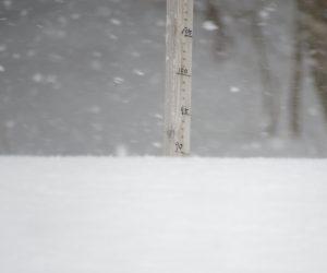 2/11  茅部野の積雪90㎝  12日に135㎝