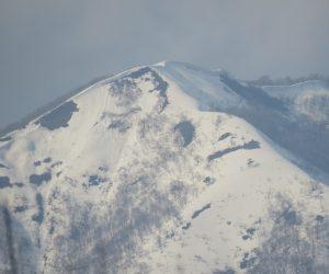 3月28日 上蒜山8合目付近