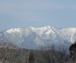 3月29日 上蒜山残雪