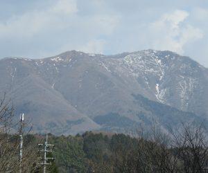 4/13 上蒜山の残雪