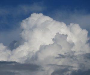 8月22日 入道雲