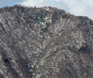 11/23 上蒜山山頂付近