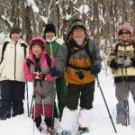 【ツアーレポート】中蒜山山麓スノーシューハイキングツアーを開催しました