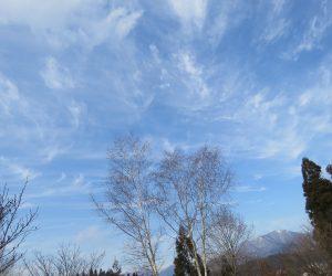 12/23 乱れ雲