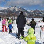【ガイド活動】ひるぜん雪恋祭り スノーシュー体験をしました