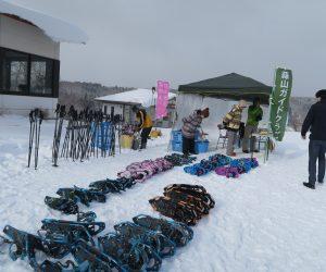 雪恋祭り2月3日 ①準備完了