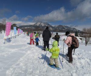 雪恋祭り2月3日 ④5歳の子も頑張って歩ききりました。