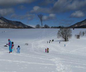 雪恋祭り2月4日 ③目標はあの岡まで