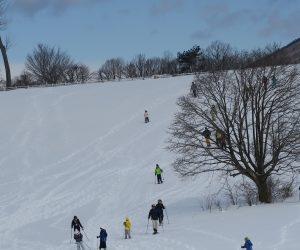 雪恋祭り2月4日 ④丘まで登った