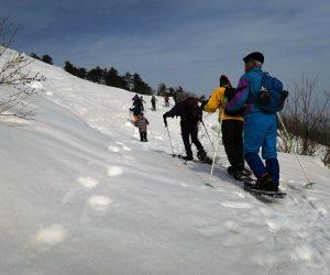2/26 三平山スノーシュウ登山