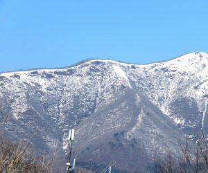 3/2  上蒜山  新雪が少し積りました。