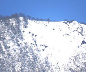 3/2 雪化粧をした上蒜山山頂尾根