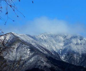 3/17 上蒜山 蒜山に名残雪 まだ1~2度はあるかな