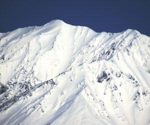 3/23 新雪をまとった大山