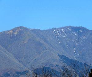 3/27 雪がほとんど消えた上蒜山  茅部野より