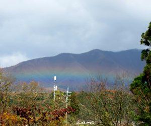 11/14 蒜山の虹