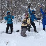 【ツアーレポート】中蒜山山麓スノーシューハイキングを開催しました