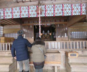 1/1  福田神社初詣