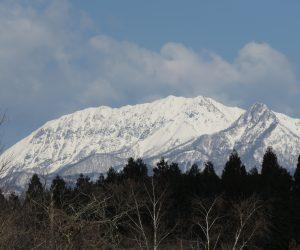4/3 大山雪化粧