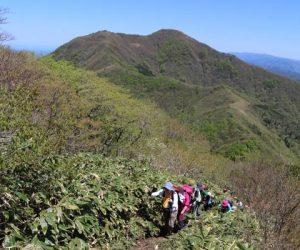 蒜山三座縦走登山3