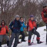 【ツアーレポート】スノーシュー登山(象山・擬宝珠山)を開催しました